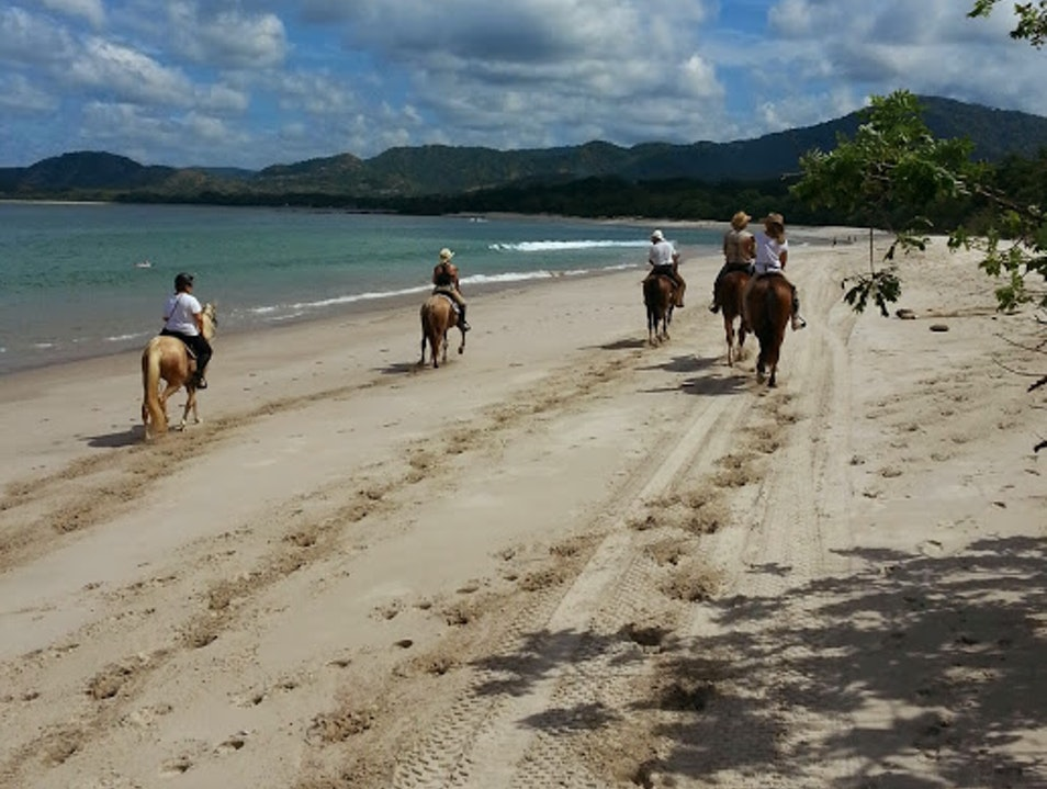Horseback Riding on the Beach Guanacaste  Costa Rica