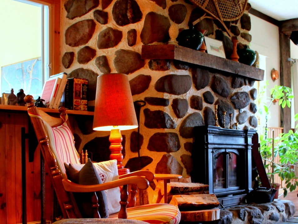 Rustic Chic in the Eastern Townships Sutton  Canada