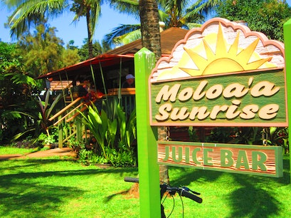 Moloa'a Sunrise Juice Bar Anahola Hawaii United States