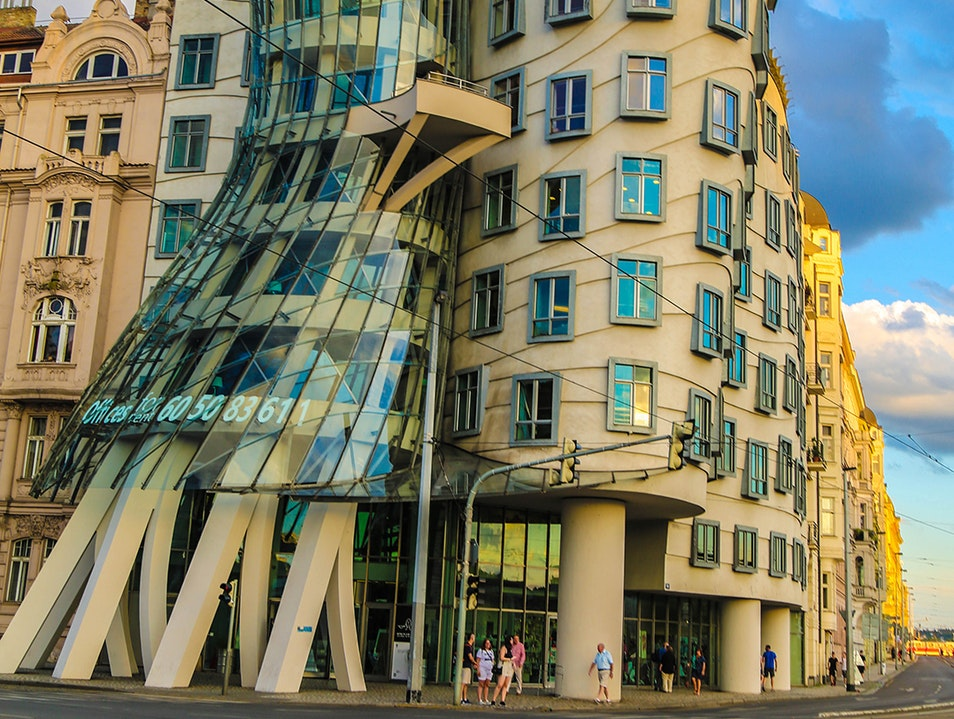Dancing House  - Prague's stylishest building is also a hotel. Prague  Czechia