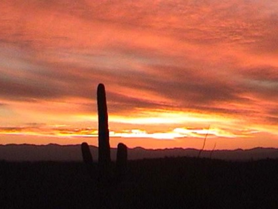 Arizona sunset Tucson Arizona United States