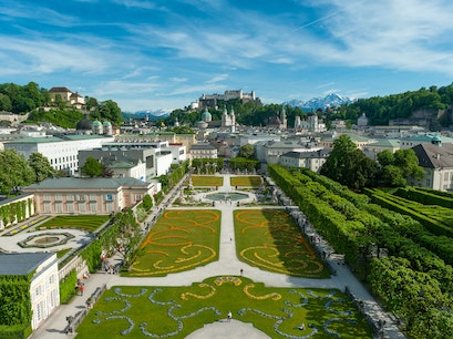 Mirabell Palace and Gardens Salzburg  Austria