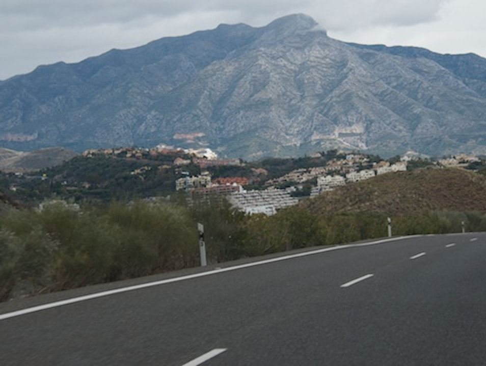 Spain - a drive from Seville to Marbella