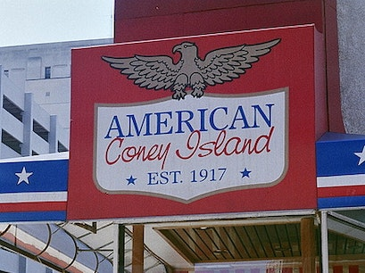 American Coney Island Detroit Michigan United States