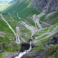 Trollstigen Mountain Road Rauma  Norway