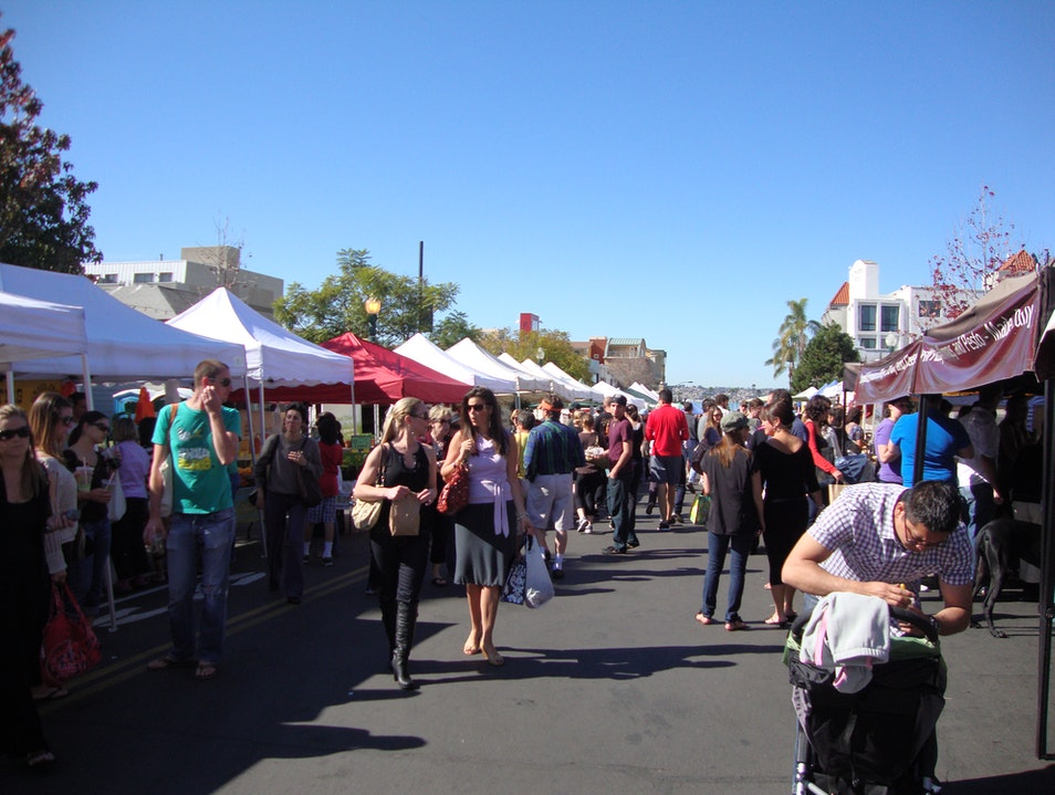 The Little Italy Mercato in San Diego