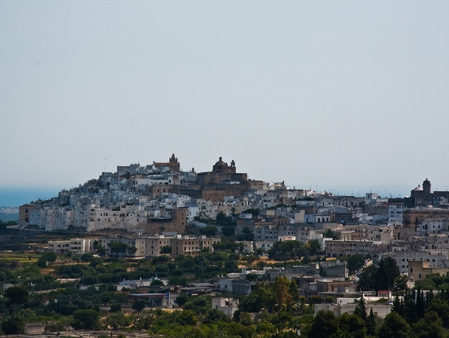 Ostuni's Hotel with a View