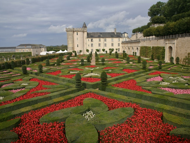 The amazing gardens of Château de Villandry