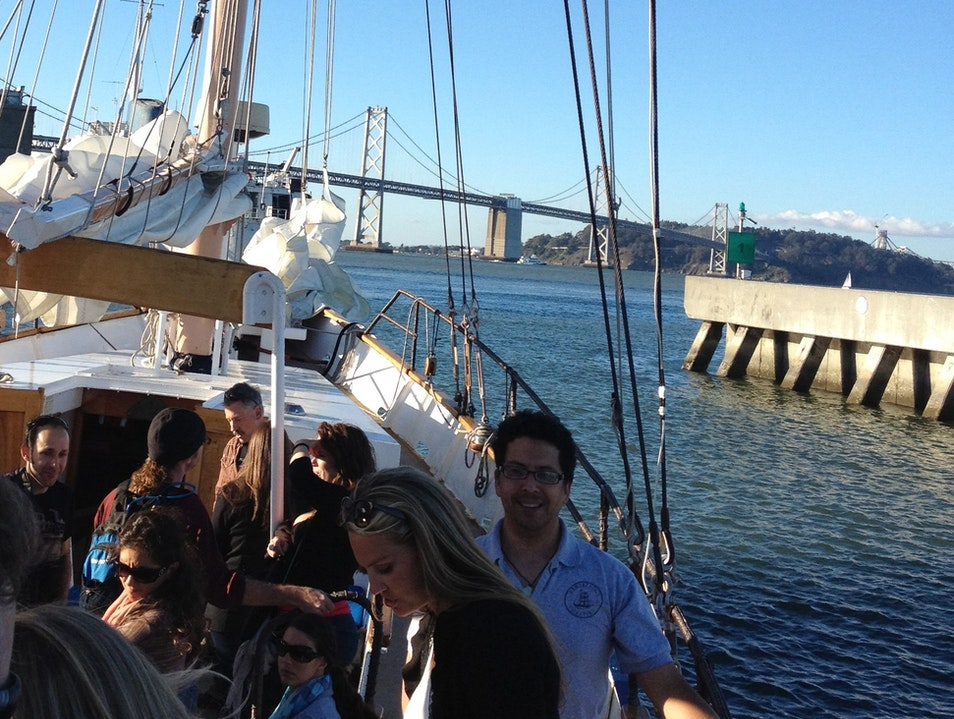 Sunset Cruise on San Francisco Bay San Francisco California United States