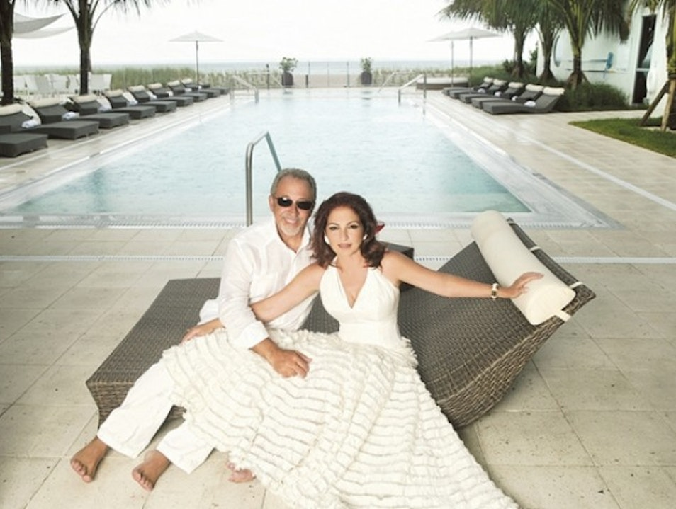 Gloria Estefan Brings South Beach to Old Florida Vero Beach Florida United States