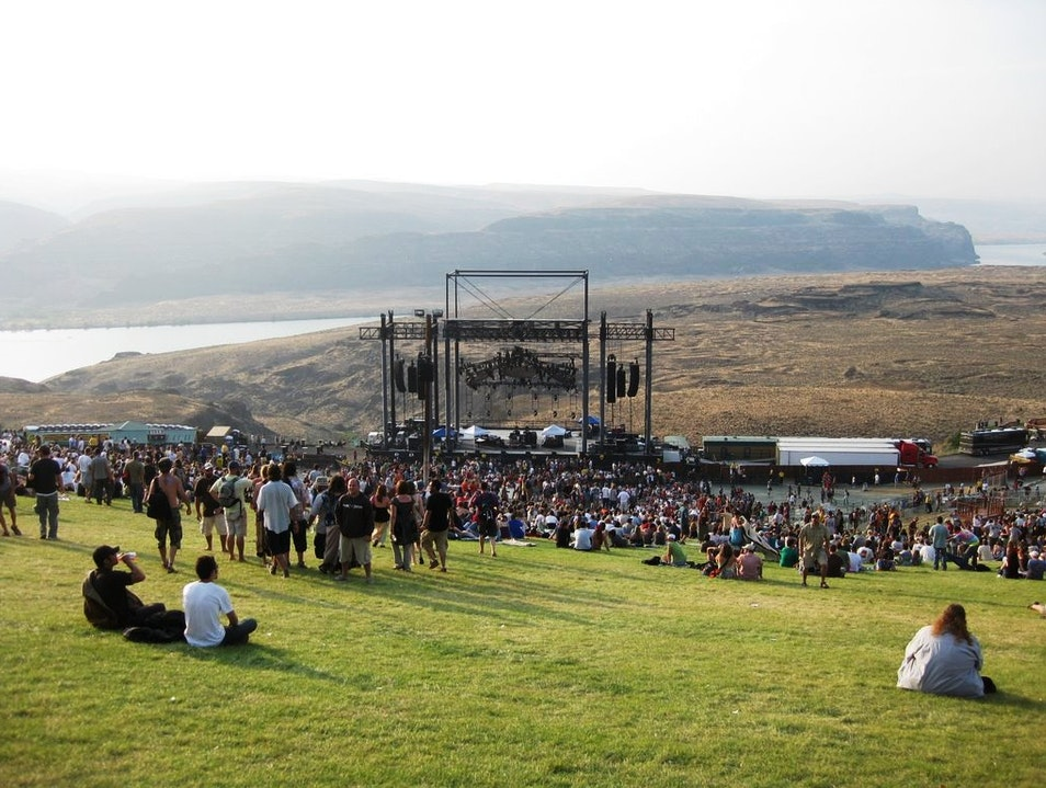 Catch a Concert with a View at the Stunning Gorge Amphitheatre Quincy Washington United States