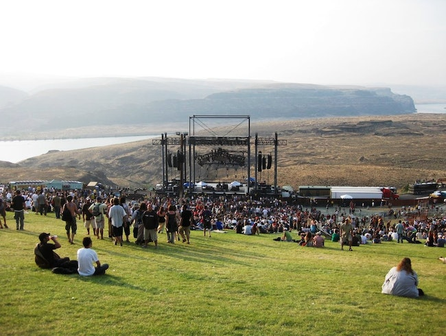 Catch a Concert with a View at the Stunning Gorge Amphitheatre