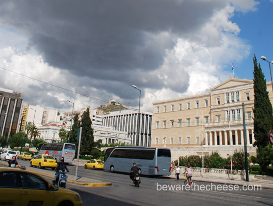 Athens Tips Part 4 - Syntagma Square