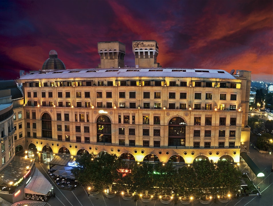 A Renaissance Affair at the Michelangelo Hotel Sandton  South Africa