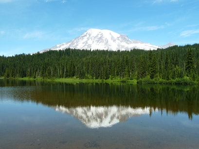 Reflection Lake Amanda Park Washington United States
