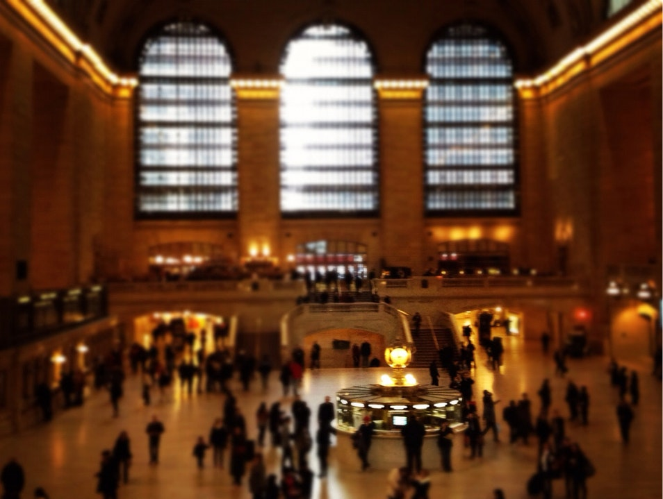 Sunday Afternoon At Grand Central Terminal New York New York United States