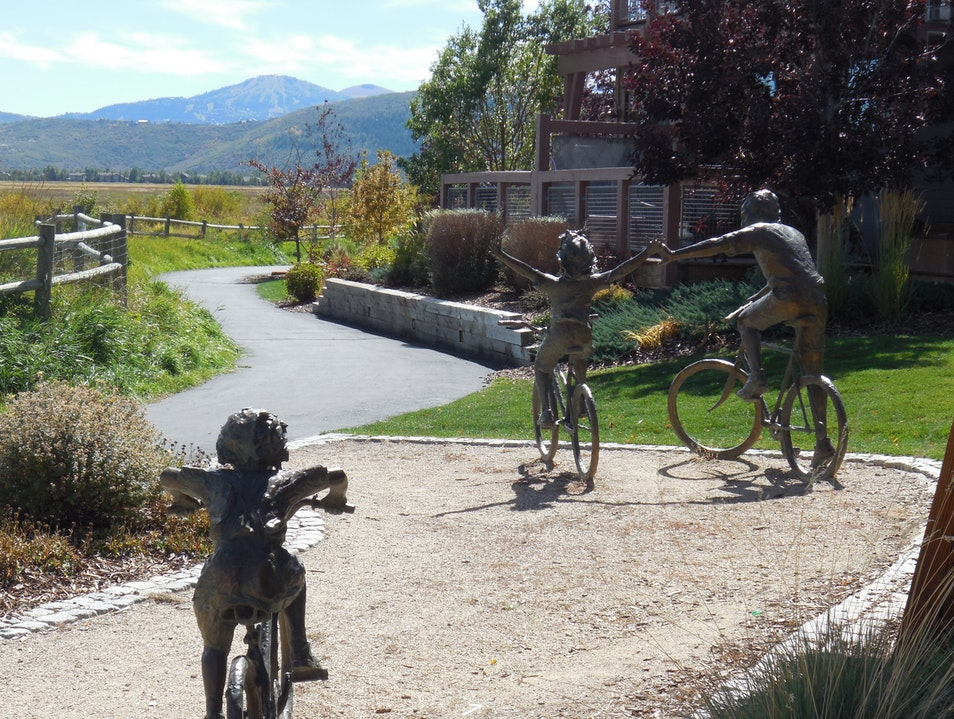 Public Art Display Park City Utah United States