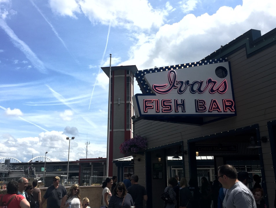 Fish and Chips or Chowder at Ivar's