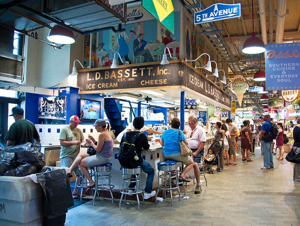 Reading Terminal Market  Philadelphia Pennsylvania United States