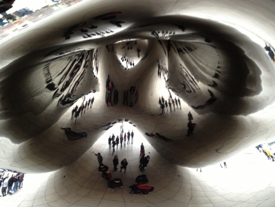 "Under ""The Bean"" Chicago Illinois United States"