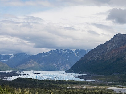 Matanuska Glacier State Recreation Site Glacier View Alaska United States