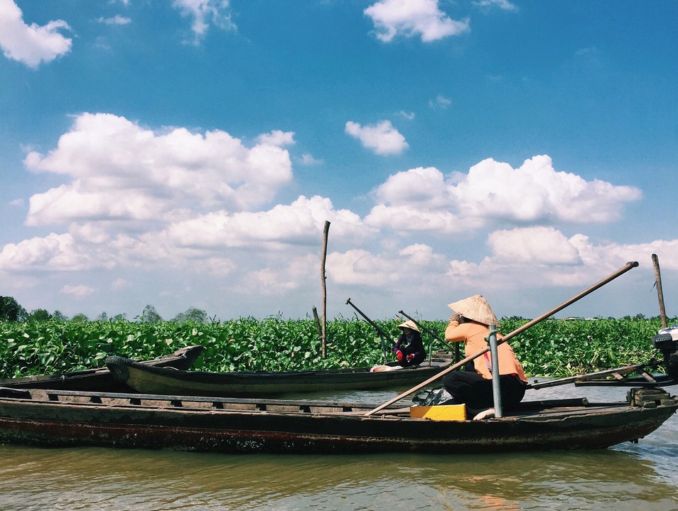 A Day on the Mekong River Delta