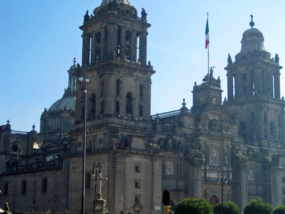 Oldest and Largest Cathedral in Latin America Mexico City  Mexico