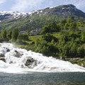 Hellesylt Waterfall Stranda  Norway