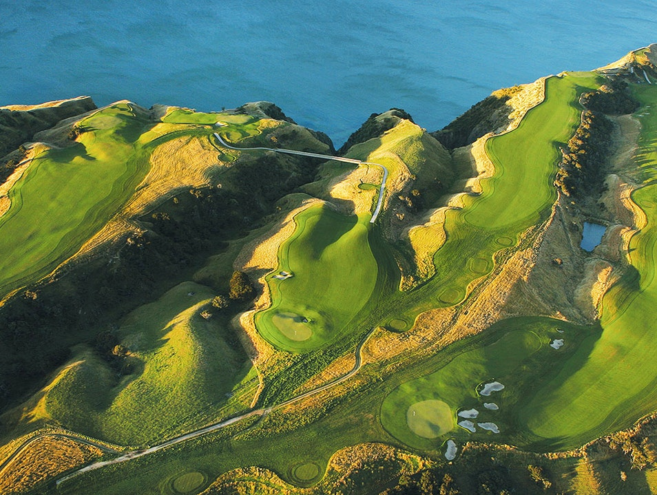 Golf in Napier Clifton  New Zealand