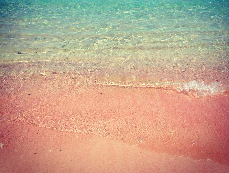 Pink Sand Between Your Toes