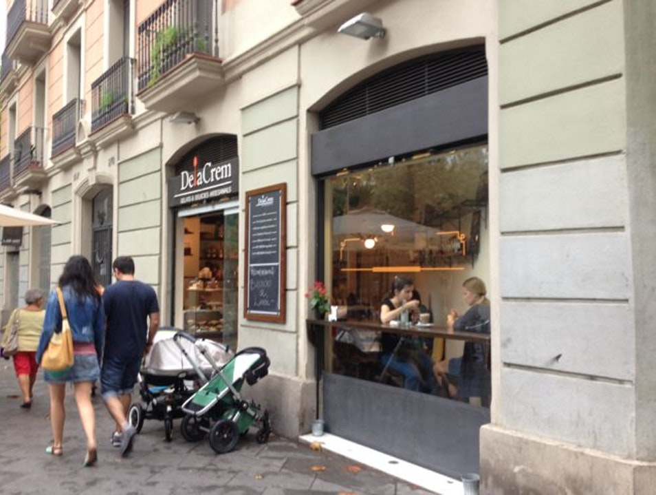 Cool off with creamy gelato Barcelona  Spain