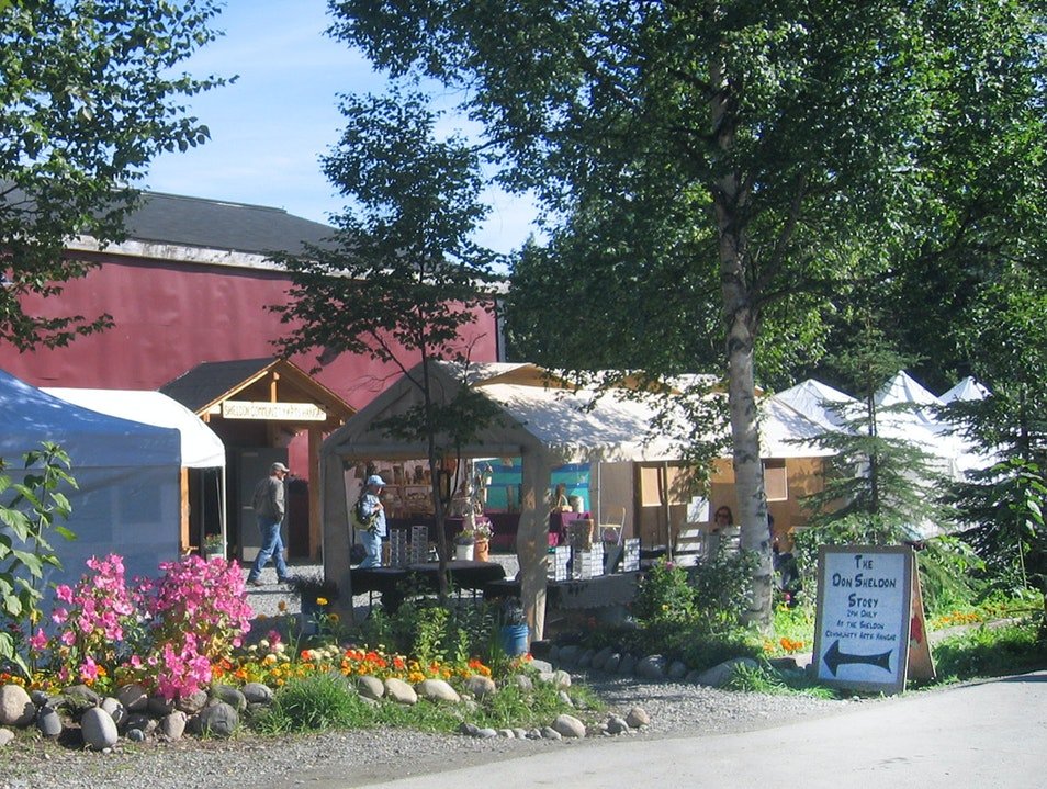 Artisans Open Air Market Talkeetna Alaska United States