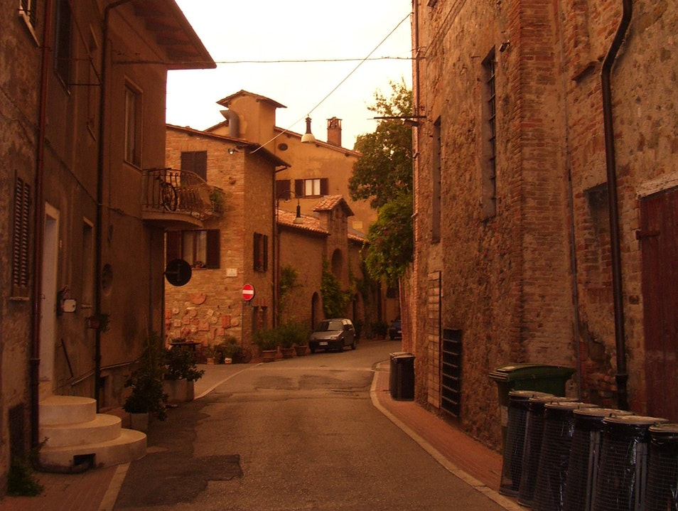 Stroll tranquil streets in Torgiano Italy