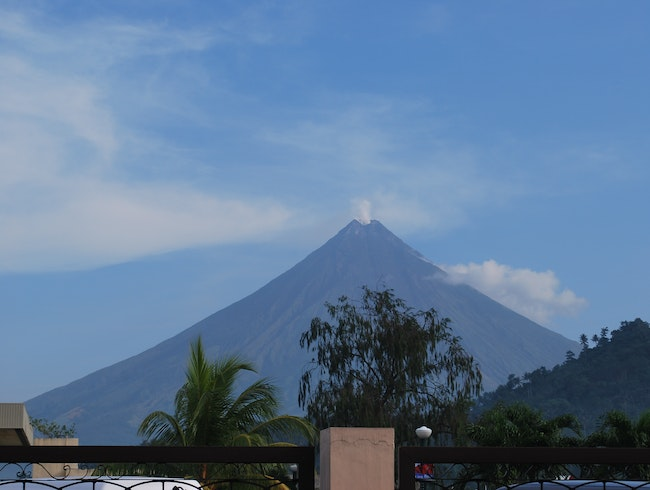The Very Shy but Majestic Mayon Volcano