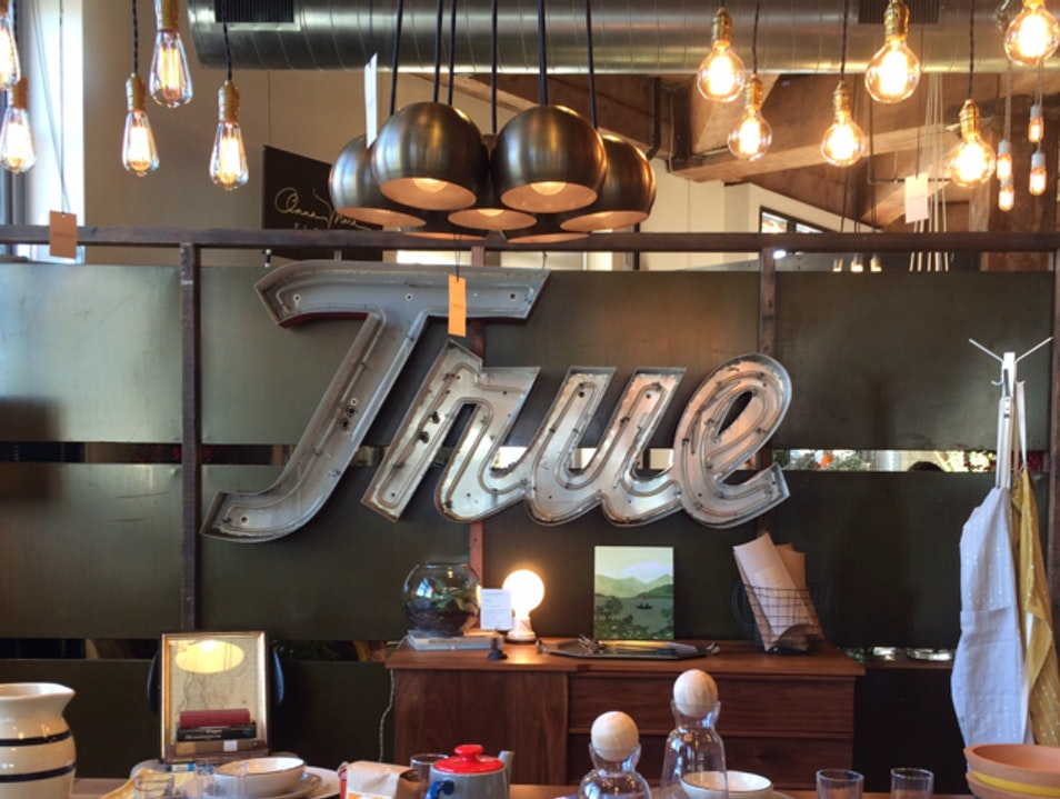 Treasure Hunting and Coffee at Schoolhouse Electric & Supply Co. Portland Oregon United States