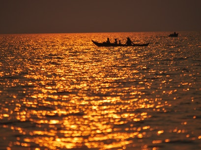 Tonle Sap Lake Phnom Koulen National Park  Cambodia