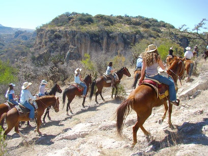 Leisurely Country Horseback Riding Boca De La Cañada  Mexico