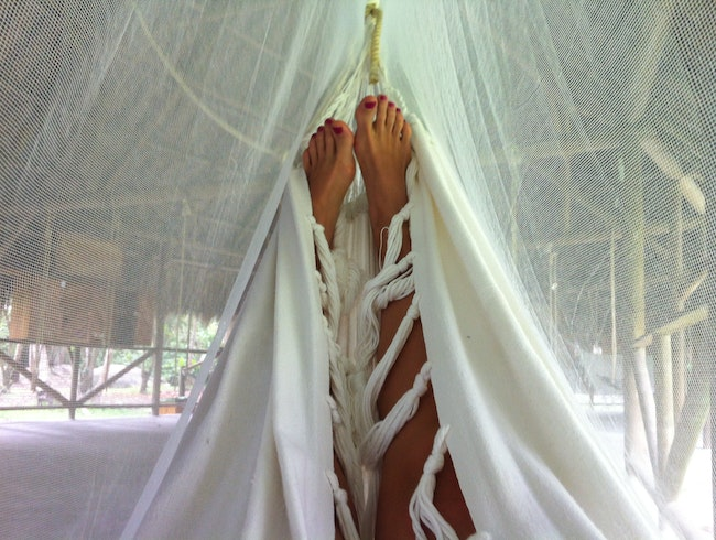 Sleeping in a Hamaca in Parque Tayrona