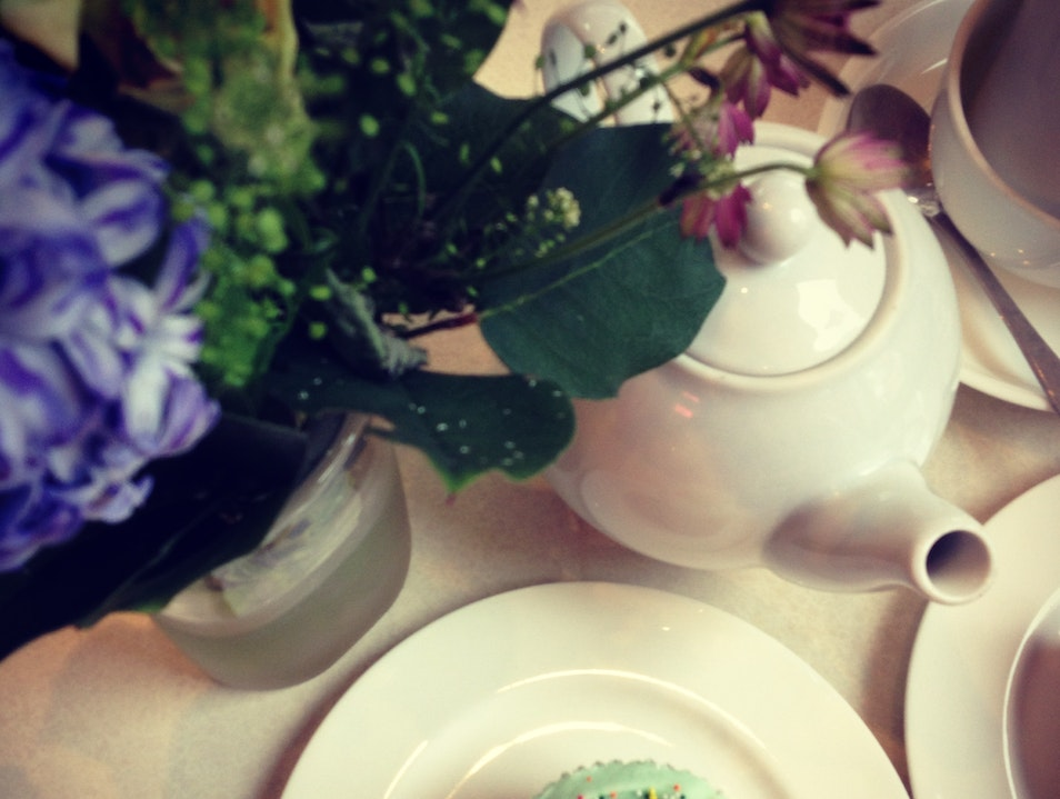 Cupcakes and Tea at Primrose Bakery London  United Kingdom