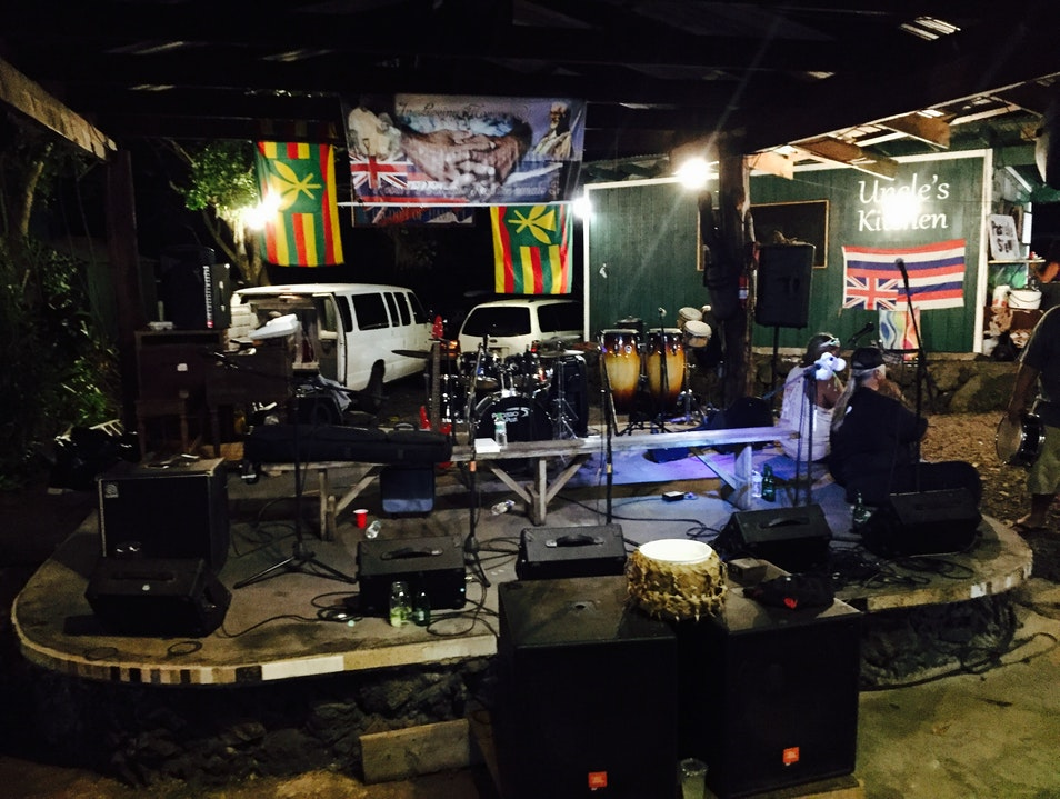Wednesday Market at Uncle Robert's Awa Bar Pāhoa Hawaii United States