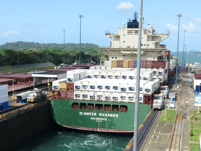Gatún Locks Colon  Panama
