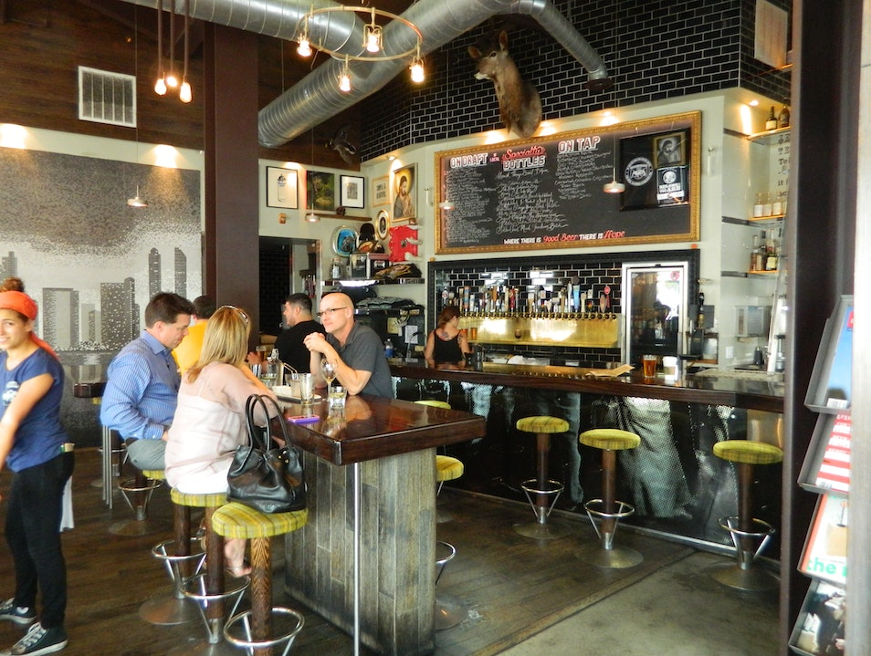 A Healthy Menu and Local Brews on Tap
