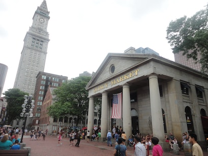 Quincy Market Boston Massachusetts United States
