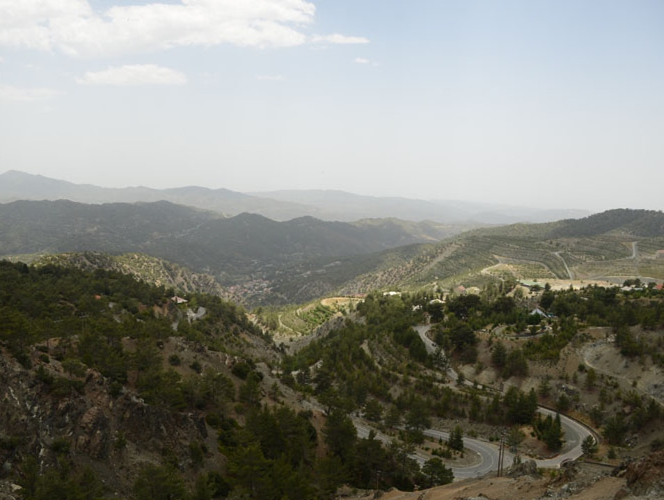 Cypriot Tips Part 9 - Mountain Drive On A Hot Day Troodos  Cyprus