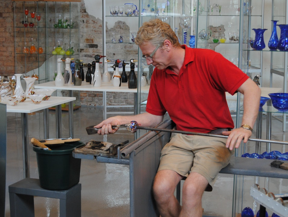 Take a Glassblowing Lesson