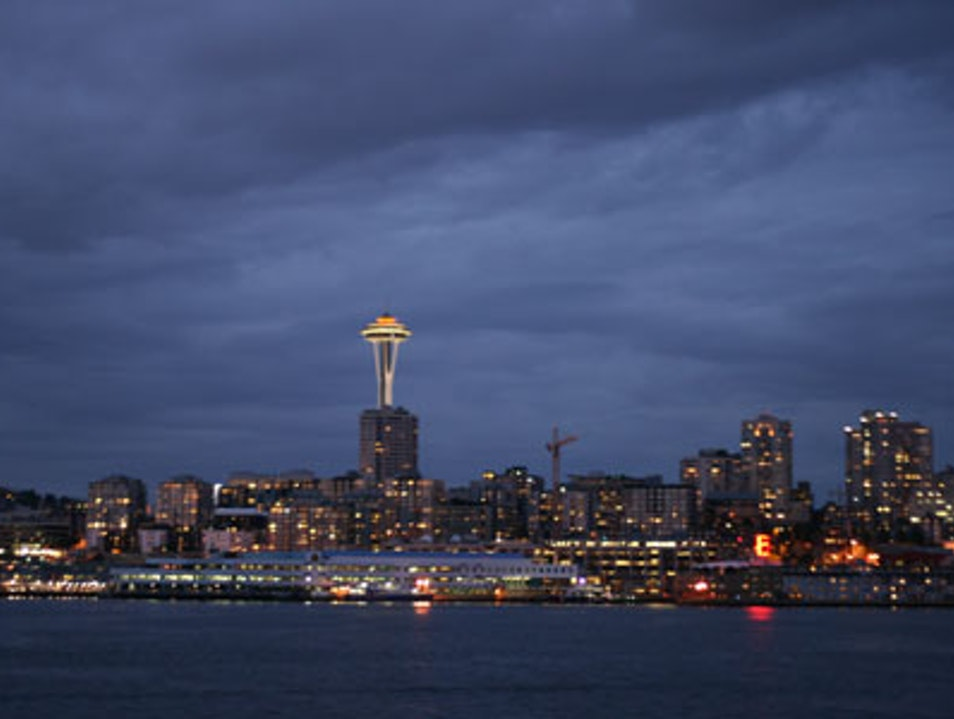 Seattle-Bainbridge Ferry Seattle Washington United States
