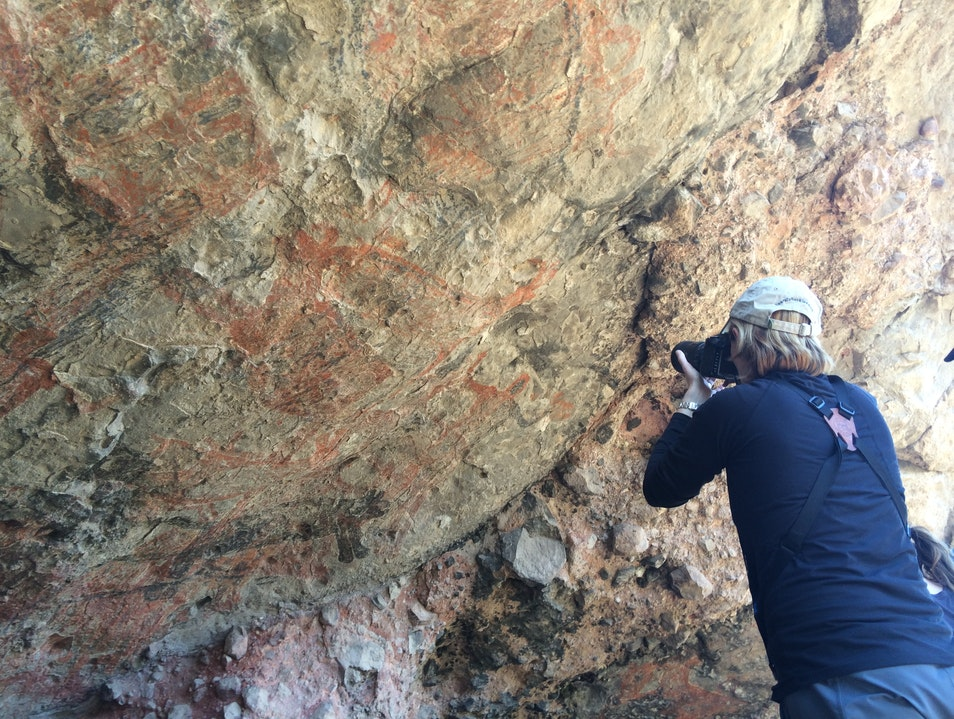 Discover 7,500 Year Old Cave Paintings Loreto  Mexico