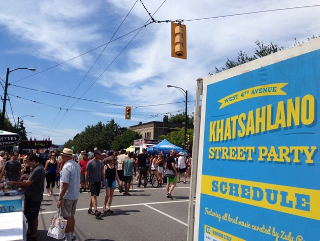 Kitsilano Street Party