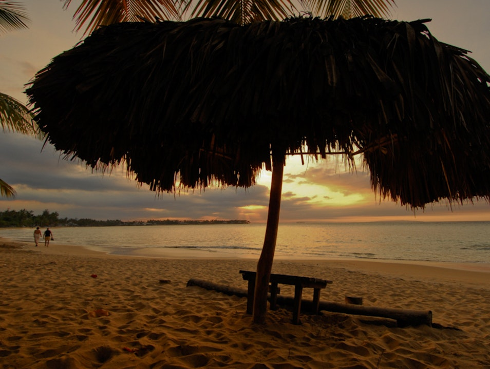 End of the day at Las Terrenas