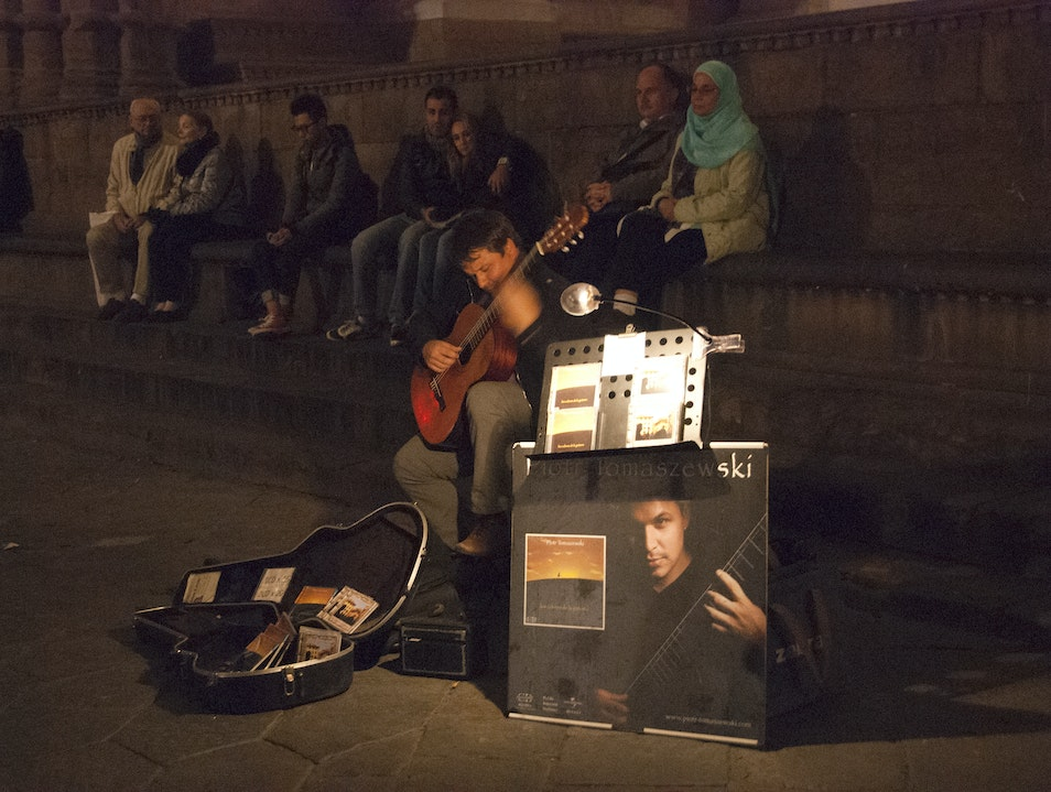 Mesmerized by the music of Piotr Tomaszewski Florence  Italy